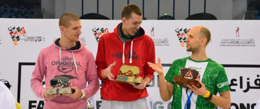 Fazza Championships 2016 in Dubai and new personal best in STA!