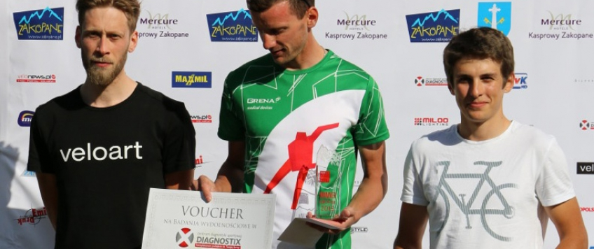 Winning the Tatra Road Race 2015!